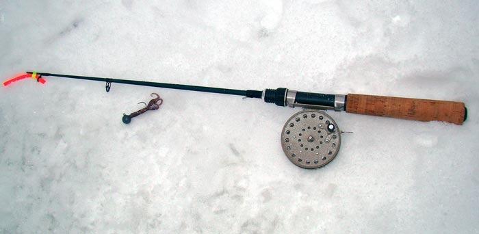 Удочка для зимнего джига со льда