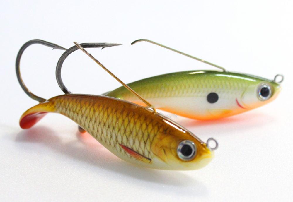 Блесна незацепляйка в виде рыбки Rapala Weedless Shad