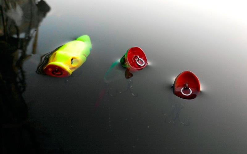 Плавающий и тонущие попперы