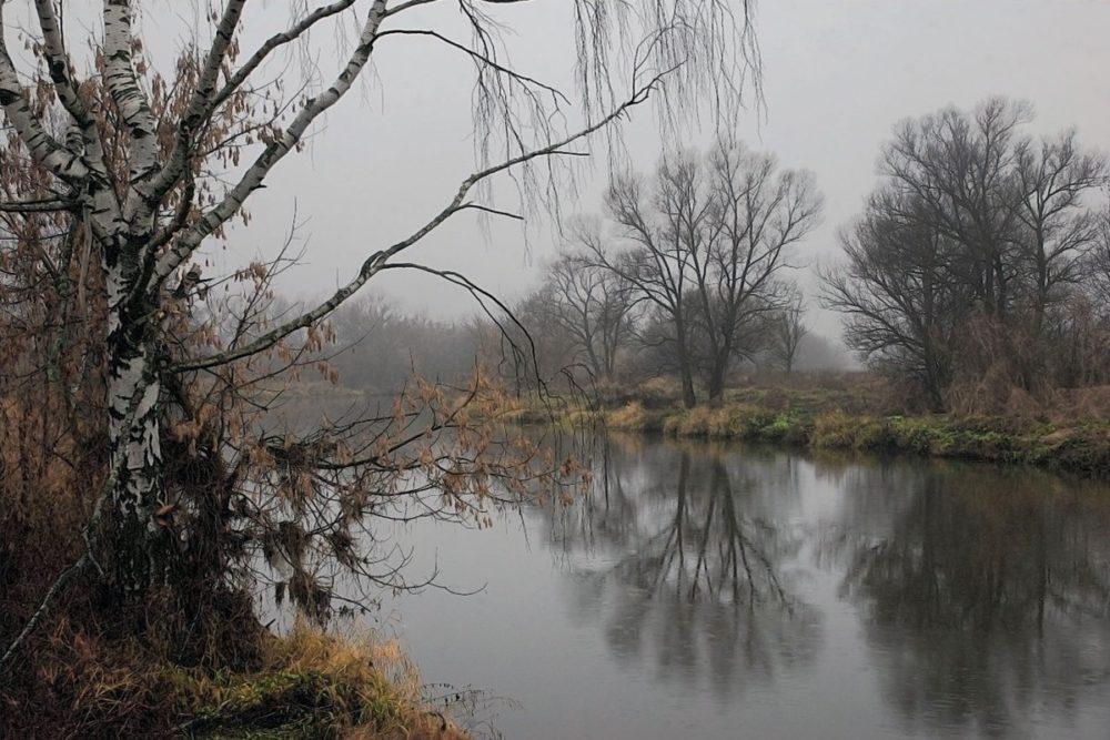 Начало ноября на реке