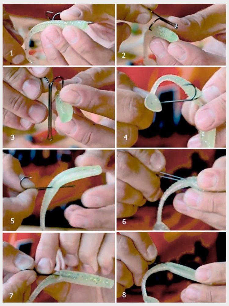 Оснастка силикона двойником