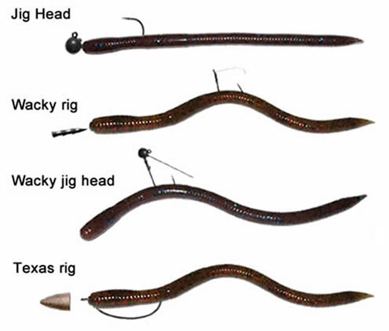 Оснастка силиконовых червей