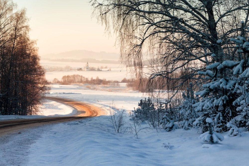 Февральский пейзаж