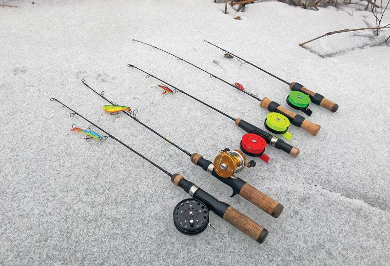 Зимние снасти на щуку для ловли со льда